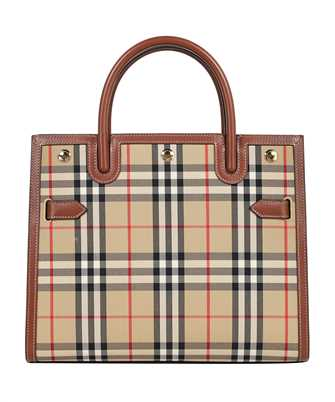 Burberry 8025274 SMALL VINTAGE CHECK TWO-HANDLE TITLE Bag