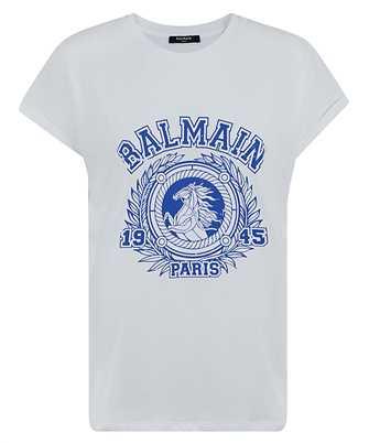 Balmain UF01351I589 UNIVERSITY PRINT T-shirt