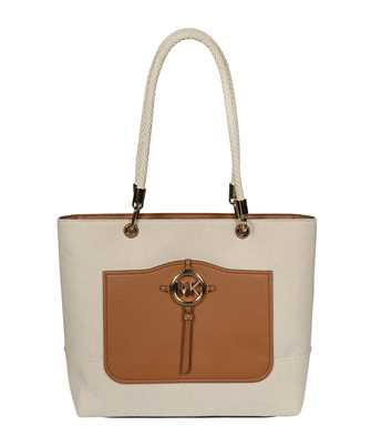 Michael Kors 30S1G2AT3C AMY LARGE CANVAS TOTE Bag