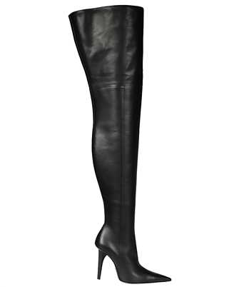 Balenciaga 636613 WBBP0 KNIFE SHARK 110MM OVER-THE-KNEE Boots