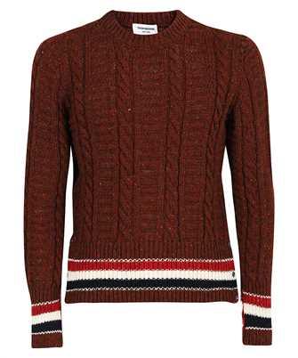 Thom Browne MKA369A Y1502 FILEY STITCH CLASSIC CREW NECK Knit