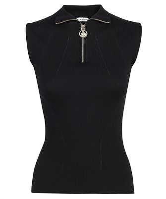 Lanvin RW PO0019 K001 A21 SLEEVELESS FITTED HIGH NECK Top
