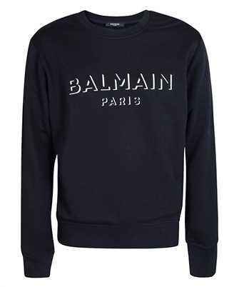 Balmain UH13277I364 3D EFFECT Sweatshirt