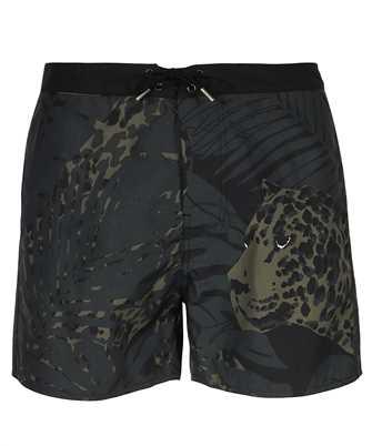 Saint Laurent 649134 Y2C22 NOCTURNAL LEOPARD Swim shorts