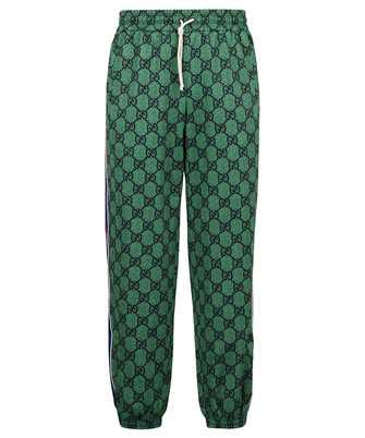 Gucci 655146 XJDF0 GG JERSEY WEB JOGGING Trousers
