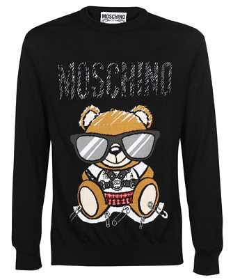 Moschino V 0921 5200 MIXED TEDDY BEAR WOOL Knit