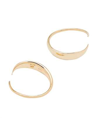 Tom Wood E38JZ NA 01 EAR LOOP Earrings