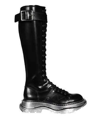 Alexander McQueen 633907 WHQSI LEATHER UPPER Boots
