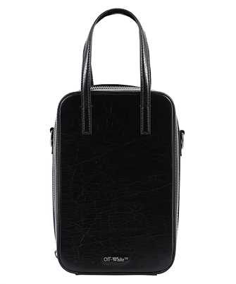Off-White OMNA129F20LEA001 VINTAGE LEATHER BABY TOTE Bag