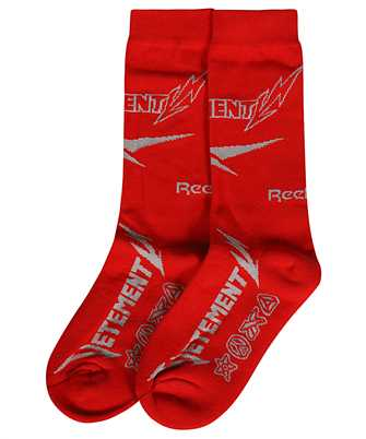 Vetements UE51SO100R METAL LOGO Socken
