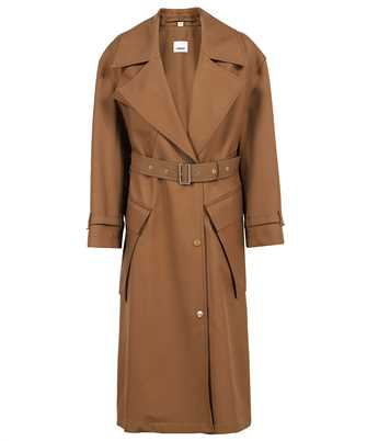 Burberry 8038930 POCKET DETAIL WOOL TWILL BELTED Coat