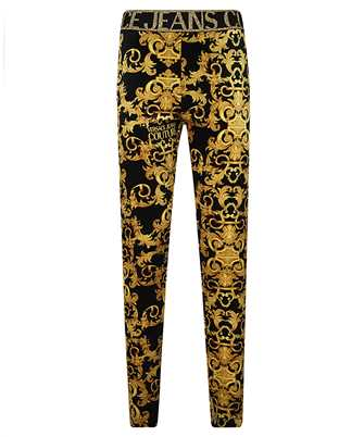 Versace Jeans Couture D5HWA101 S0034 VELVET BAROQE PRINT Trousers