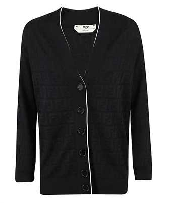 Fendi FZC834 AD5O COTTON AND VISCOSE Cardigan