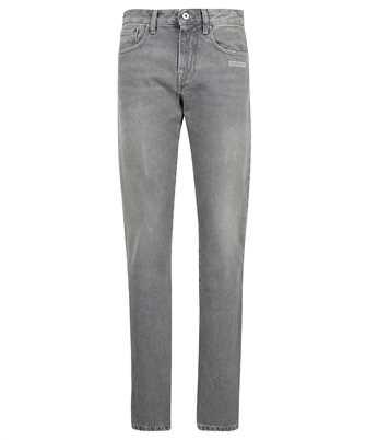 Off-White OWYA032F21DEN003 GREY DENIM SLIM FIT Jeans