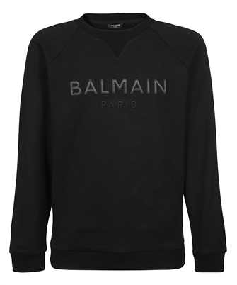 Balmain UF13691I497 SATIN LOGO Sweatshirt