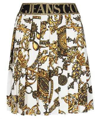 Versace Jeans Couture 71HAE811 NS006 SATIN PRINT BAROQUE BIJOUX Skirt
