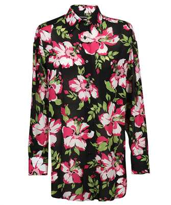 Tom Ford CA3190 FAP141 PAINTED FLORAL ON LIGHT BATISTA Shirt