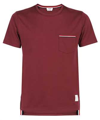 Thom Browne MJS010A 01454 MEDIUM WEIGHT JERSEY COTTON T-shirt