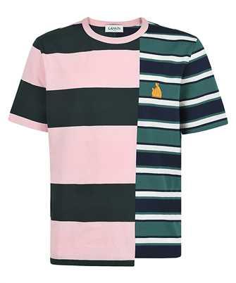 Lanvin RM JE0005 JR47 P21 PATCHWORK T-shirt