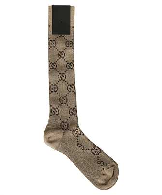 Gucci 476525 3G199 LAME GG Socks