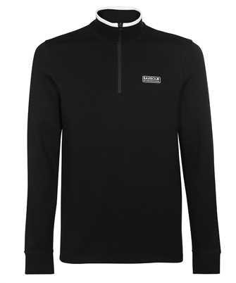 Barbour MML1139BK31 TIPPED QUARTER ZIP Sweatshirt