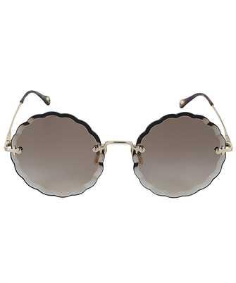 Chloé CH0047S 001 OVAL FRAME Slnečné okuliare