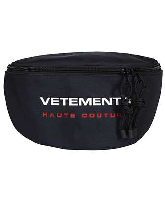 Vetements UE51BA100N LOGO HAUTE COUTURE Belt bag
