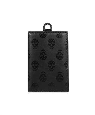 Alexander McQueen 647190 1AAAW BIKER Card holder