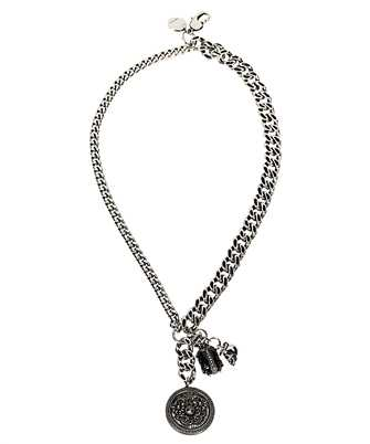 Alexander McQueen 611295 J160Y BEETLE AND MEDALLION Necklace