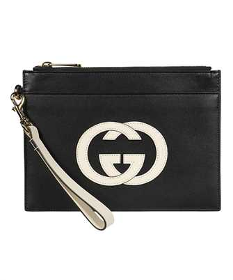 Gucci 658843 0QGCG INTERLOCKING G LEATHER Document case
