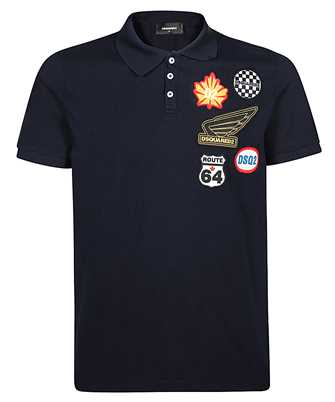 Dsquared2 S74GL0036 S22743 PATCHES Polo