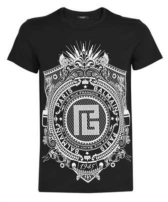Balmain VH0EF000G059 CLASSIC FIT PRINTED T-shirt