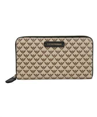 Emporio Armani Y3H010 YFH1A ALL-OVER MONOGRAM Wallet