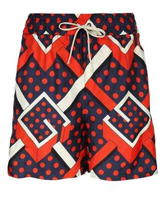 Gucci 661791 XJDI1 G DOT LABYRINTH PRINT Shorts