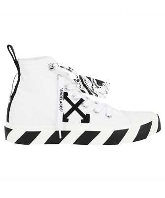 Off-White OMIA119F21FAB001 MID TOP VULCANIZED CANVAS Sneakers