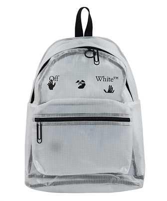 Off-White OMNB029F20PLA001 LOGO PVC Backpack