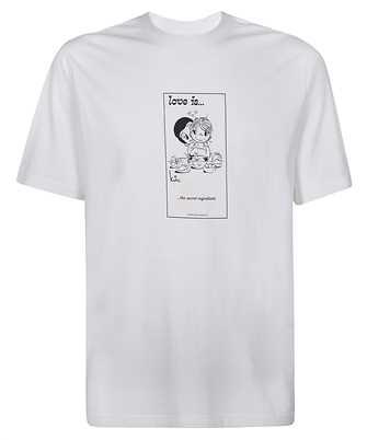Vetements UAH21TR681 LOVE IS... SECRET T-shirt
