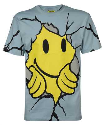 Chinatown Market 1990449 SMILEY DRY WALL BREAKER T-shirt