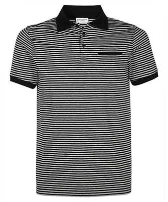 Saint Laurent 646081 Y36BB STRIPED Polo