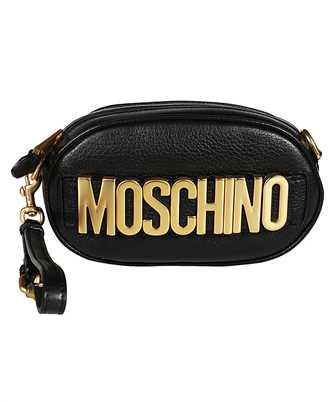 Moschino 7715 8003 LOGO ZIP Belt bag