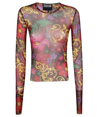 Versace Jeans Couture B2HZB710 S0864 FLOWERS T-shirt