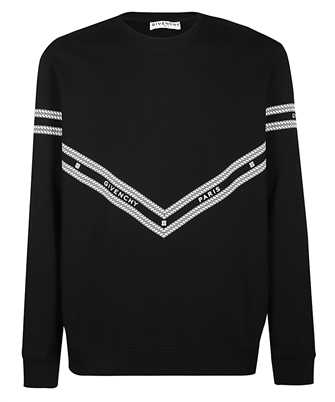 Givenchy BMJ08230AF CHAIN PRINTED Sweatshirt
