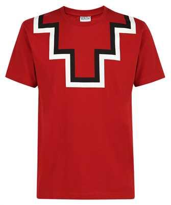 Marcelo Burlon CMAA075F21JER001 RURAL CROSS BASIC NECK T-shirt