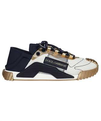 Dolce & Gabbana CS1769 AO229 MIXED-MATERIAL NS1 SLIP-ON Sneakers