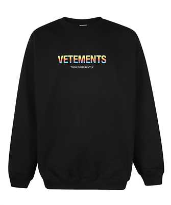 Vetements UE51TR630B THINK DIFFERENTLY LOGO Sweatshirt