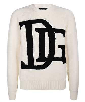 Dolce & Gabbana GXB34T JAVXB DG LOGO INTARSIA Knit