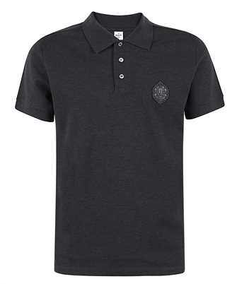 BERLUTI R19JPS47 001 LEATHER CREST Polo