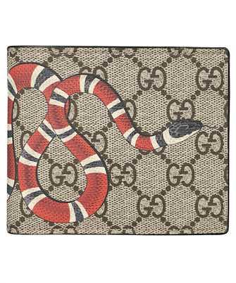 Gucci 451266 K551N KINGSNAKE GG SUPREME Wallet