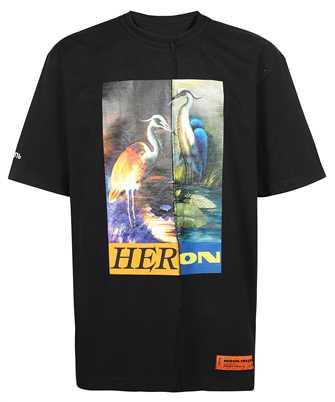 Heron Preston HMAA029F21JER002 SPLIT OVERSIZE S/S T-shirt
