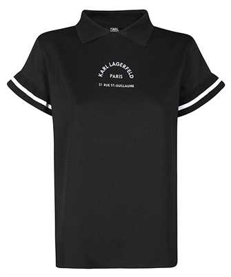 Karl Lagerfeld 205W1722 SHINY PIQUE Polo